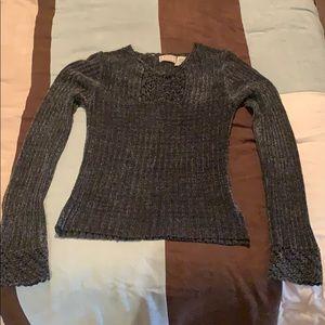 Long sleeve knit shirt